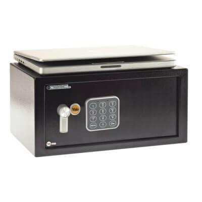 Yale® Laptop Safe - 350 x 430 x 200mm - Black)