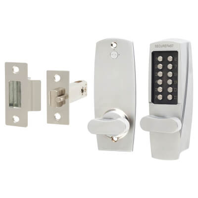 Securefast SBL700.S Mechanical Code Lock - Satin Chrome