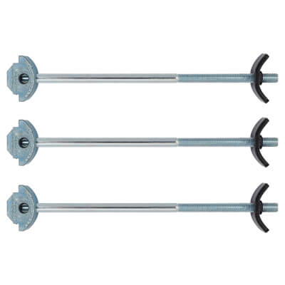 Zipbolt Worktop Connectors - PPQT10 700 - 170mm - Pack 3