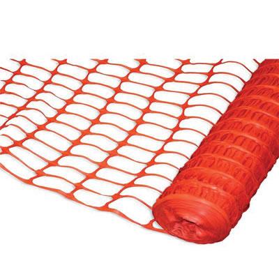 Light Duty Webbed Fencing - Orange)