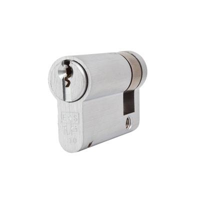 Eurospec MP10 - Euro Single Cylinder - 35 + 10mm - Satin Chrome  - Keyed to Differ