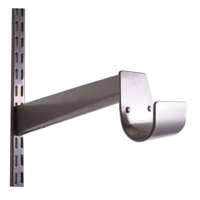 elfa® Hanging Rail Bracket - 325mm - Silver
