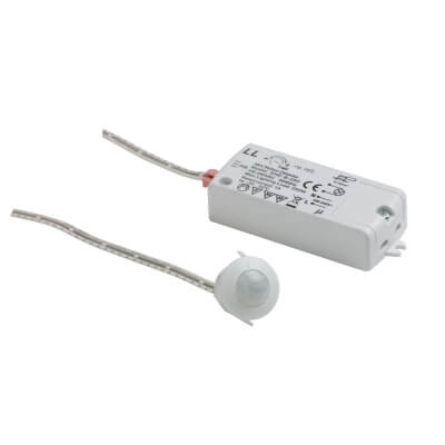 Leyton PIR Sensor Lighting Switch - 2.5m Detection - Max 250W)