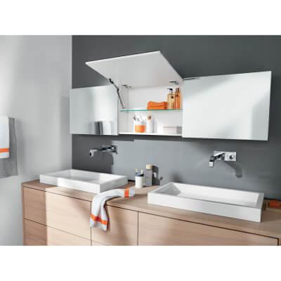 Blum AVENTOS HK-XS TIP-ON Cabinet Door Lift Mechanism - Small/Medium Power Factor (LF) 500 - 1200