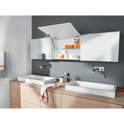 Blum AVENTOS HK-XS TIP-ON Cabinet Door Lift Mechanism - Small/Medium Power Factor (LF) 500 - 1200
