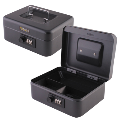 Sterling Cash Box with Combination Lock - 8