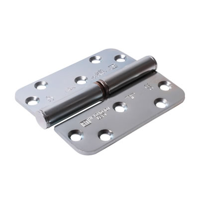 Royde & Tucker (H101) Hi-Load Lift-Off Hinge - 100 x 88 x 3mm - Left Hand - Zinc Plated - Pair)