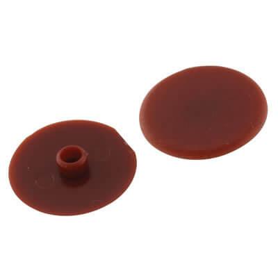 Plastic Cam Cap - 17mm - Cherry
