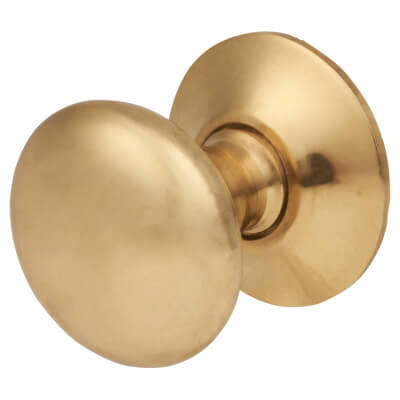 Touchpoint Spun Cabinet Knob - 19mm - Polished Brass