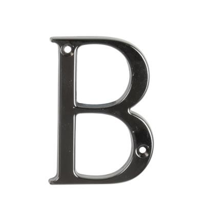76mm Letter - B - Bright Bronze