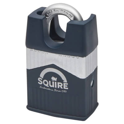 Squire Warrior Closed Shackle Padlock - 45mm