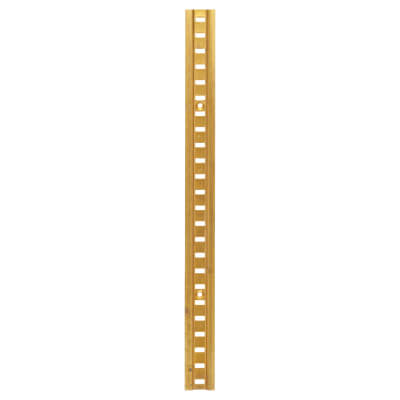 ION Raised Bookcase Strip - 1829 x 24mm - Polished Solid Brass