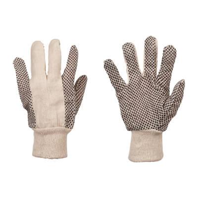 Men's Cotton Grip Gloves