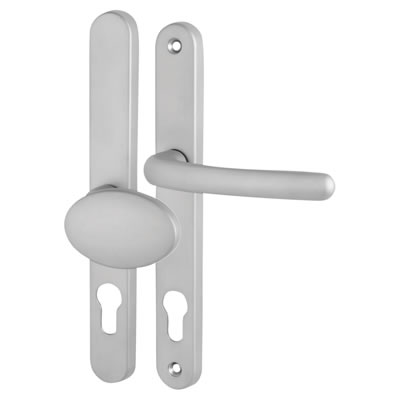 Fab & Fix Balmoral - Multipoint Handle - uPVC/Timber - Lever/Pad - 92/62mm centres - Satin Chrome