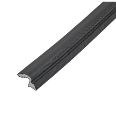 Schlegel Q-Lon 9257 Universal uPVC Door Replacement Seal - 300m - Black)
