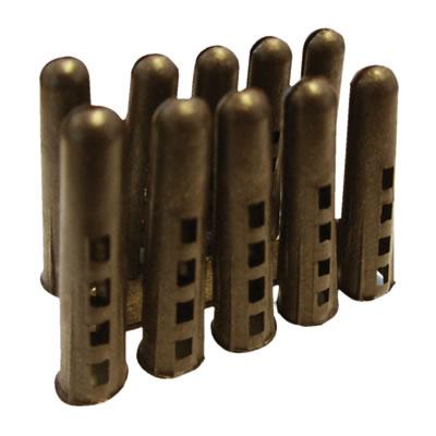 Rawlplug HDPE Plug - Brown - Pack 1000)