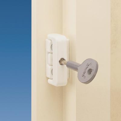 Yale® 8K101M Wooden Window Lock - White