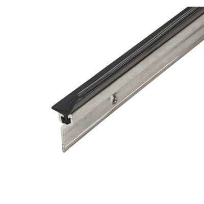 Exitex Perimeter Seal - Single Door Kit - Plain Aluminium