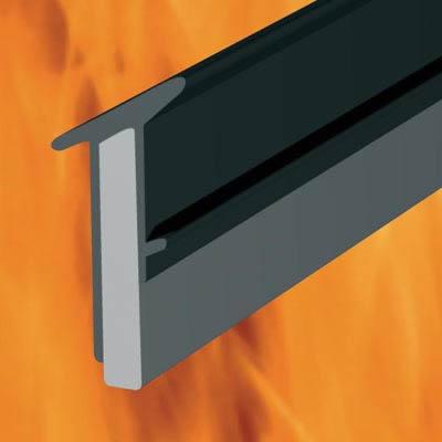 TF130BK Intumescent Glazing Gasket - 100 metres - Black)