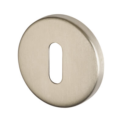 Altro Escutcheon - Keyhole - Satin Stainless Steel