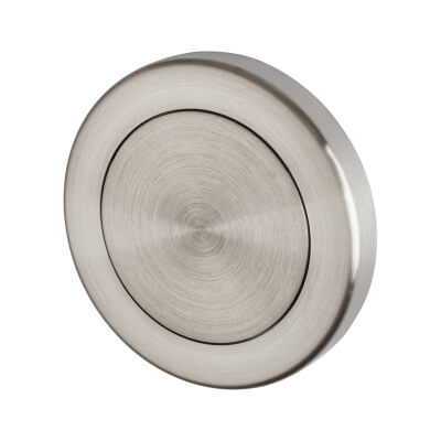 A-Spec Escutcheon - Blank - 316 Satin Stainless Steel)