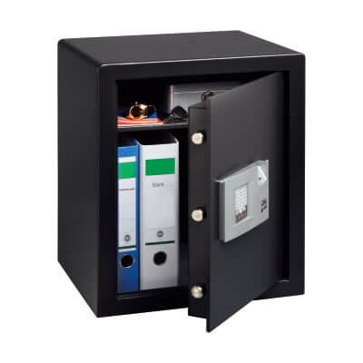 Burg Wächter P 4 E FS PointSafe Electronic Biometric Safe - 500 x 416 x 350mm - Black