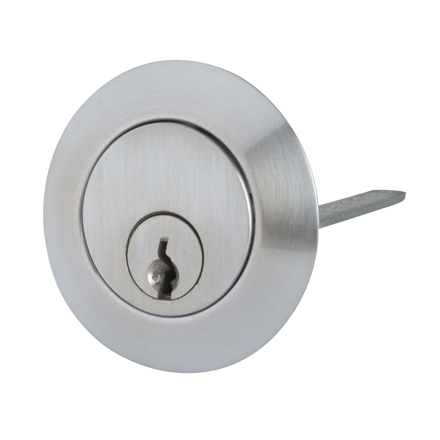 Contract Nightlatch Replacement Cylinder - Satin Chrome)