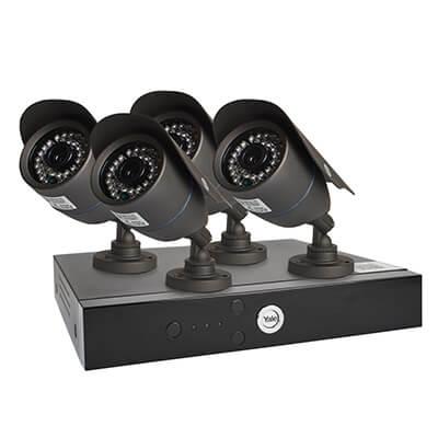 Yale® Smart HD1080 4 Camera CCTV Kit)
