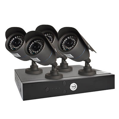 Yale® Smart HD1080 4 Camera CCTV Kit