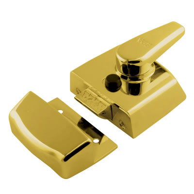 ERA® Replacement Nightlatch - 60mm Backset - Brass)