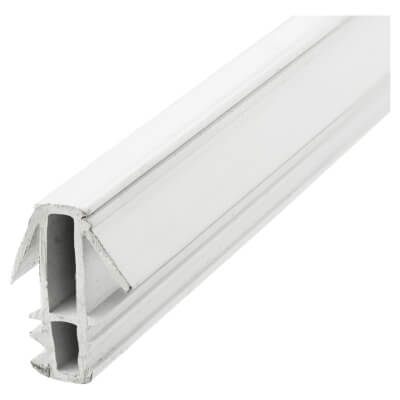 Exitex Fin Parting Bead - 3000mm - White)