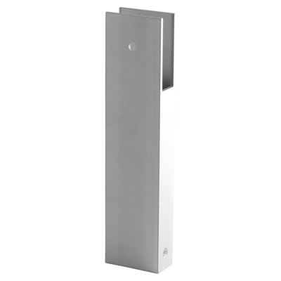 Pro Partition Leg - Satin Anodised Aluminium - 17-19mm Panels