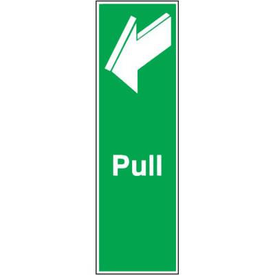 Pull - 150 x 50mm - Rigid Plastic)