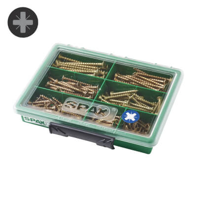 Spax Multihead Selection Screw Case - Pack 245