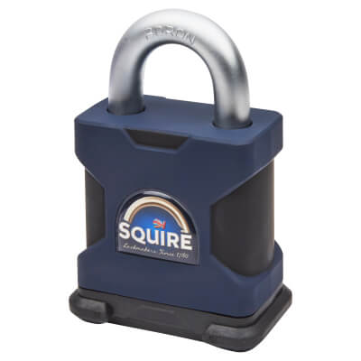 Squire Maximum Security Open Shackle Padlock - 65mm - Keyed to Differ