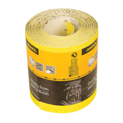 Mirka Hiomant Roll - 115mm x 10m - Grit 180