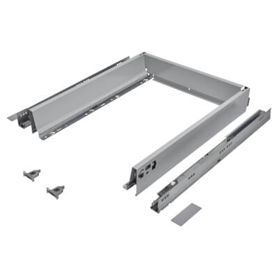 Blum TANDEMBOX ANTARO Drawer Pack - BLUMOTION Soft Close - (H) 84mm x (D) 500mm x (W) 450mm - Grey