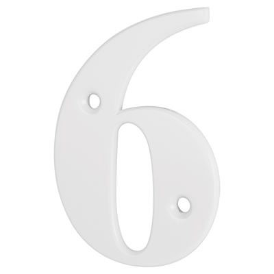 76mm Numeral - 6/9 - White