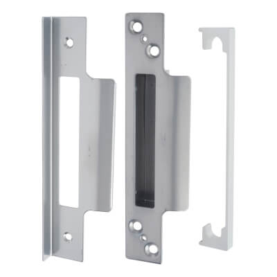 Legge 13mm Rebate Kit to suit Heavy Pattern 5 Lever Sashlock - Satin Chrome