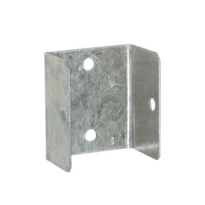 Fence Panel Clip - Galvanised - 44mm - Pack 4)