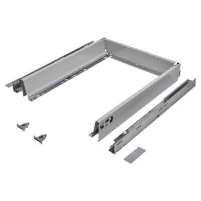 Blum TANDEMBOX ANTARO Drawer Pack - BLUMOTION Soft Close - (H) 84mm x (D) 500mm x (W) 500mm - Grey