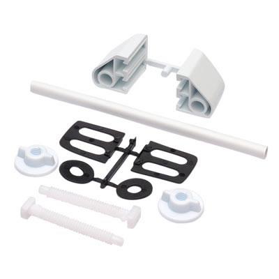Toilet Seat Fitting Kit - White)