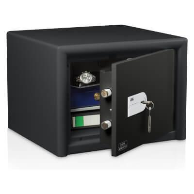 Burg Wächter CL 20 S Combi-Line Key Operated Fire Safe - 360 x 495 x 445mm - Light Grey)