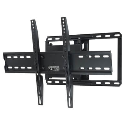 SECURA Wall Mount TV Bracket for 40-70 Inch TV's - Full Motion Dual-Arm)