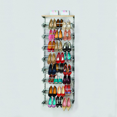 elfa Shoe Rack Kit - Platinum