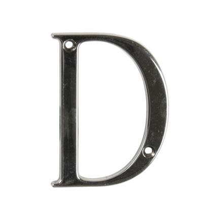 76mm Letter - D - Bright Bronze