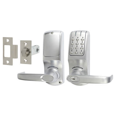 Codelocks CL5010 Electronic Lock - Brushed Steel)