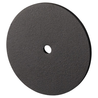 Designer End Cap for Headrail - Black Textured - 17-19mm Panels)