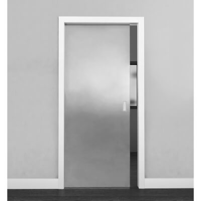 Rocket Door Frames 8mm Glass Pocket Door Kit - 686x1981mm Door Size)