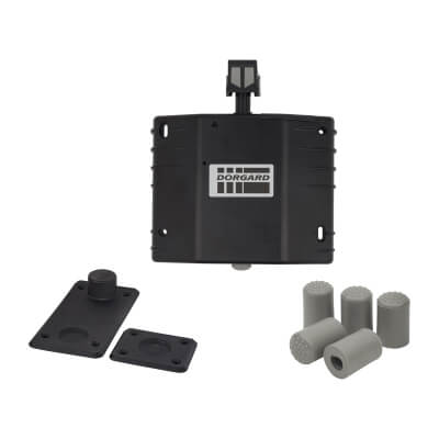 Dorgard Black with spare ferrules & floor plates